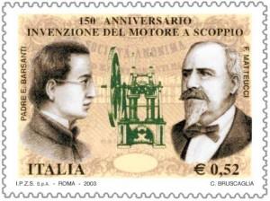 Padre Eugenio Barsanti e Felice Matteucci